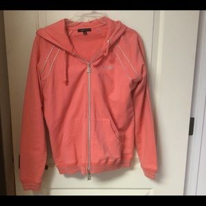 BCBGmaxaria Hoodie With Bling EUC